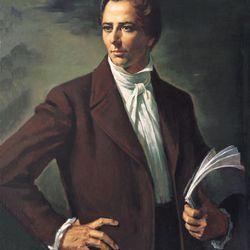 Portrait of Joseph Smith by artist Alvin Gittins. Photo provided by LDS Church