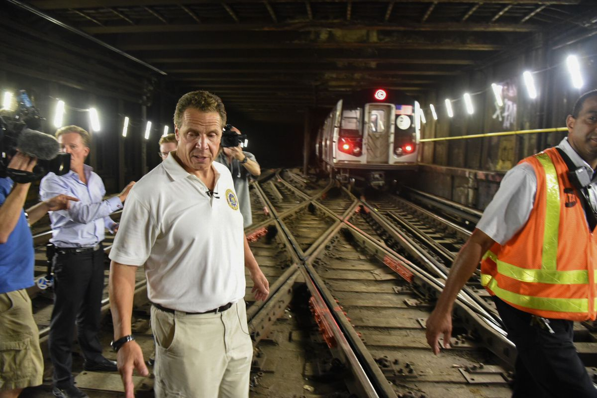 Nyc Subway U2019s Power Supply Also Needs An Overhaul  Cuomo Says