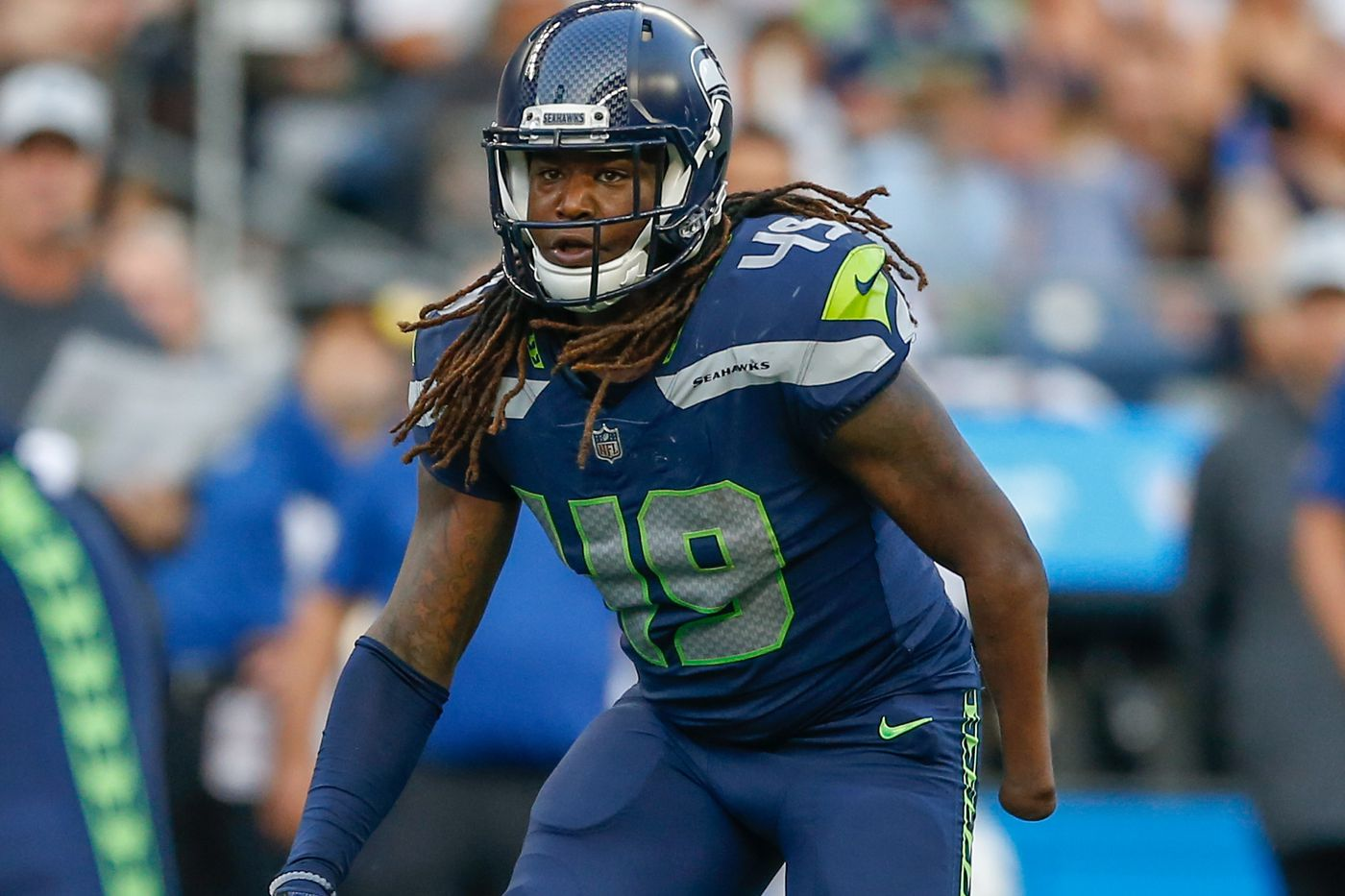 release date: 482b3 b0aab Shaquem Griffin starts for Seahawks in his 1st NFL game ...