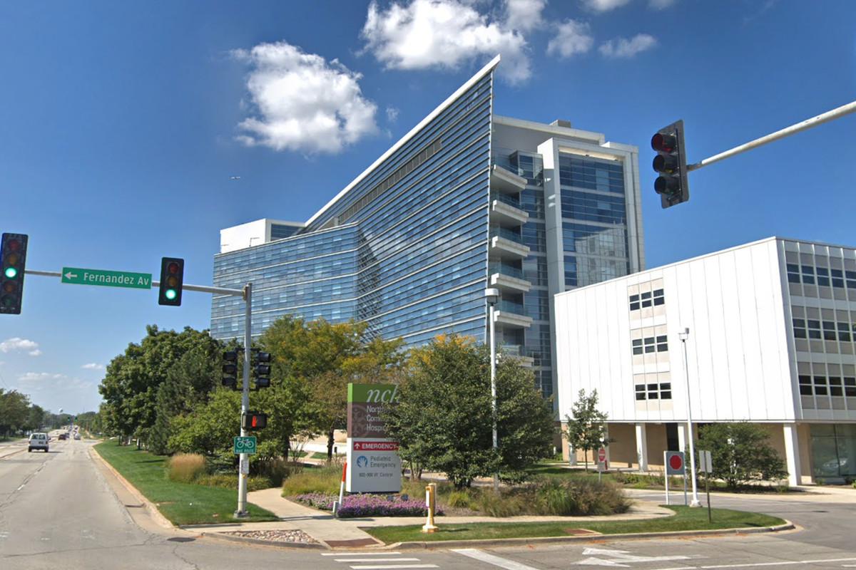 Health officials announced March 5, 2020, that a person with coronavirus was released from Northwest Community Hospital in Arlington Heights.