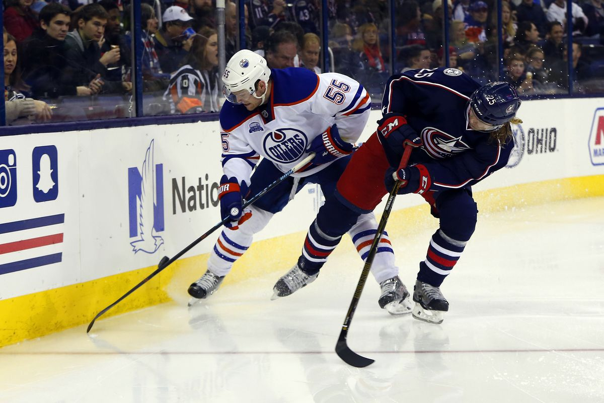 NHL: Edmonton Oilers at Columbus Blue Jackets