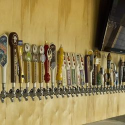 The West End's beer selection.