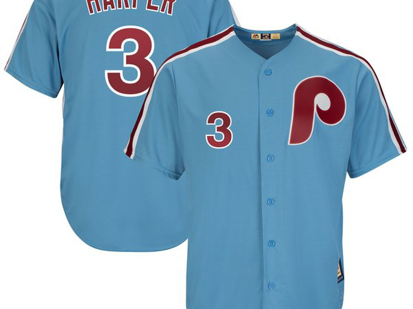 7264e8313 The Bryce Harper Phillies jerseys and T-shirts have dropped online -  SBNation.com