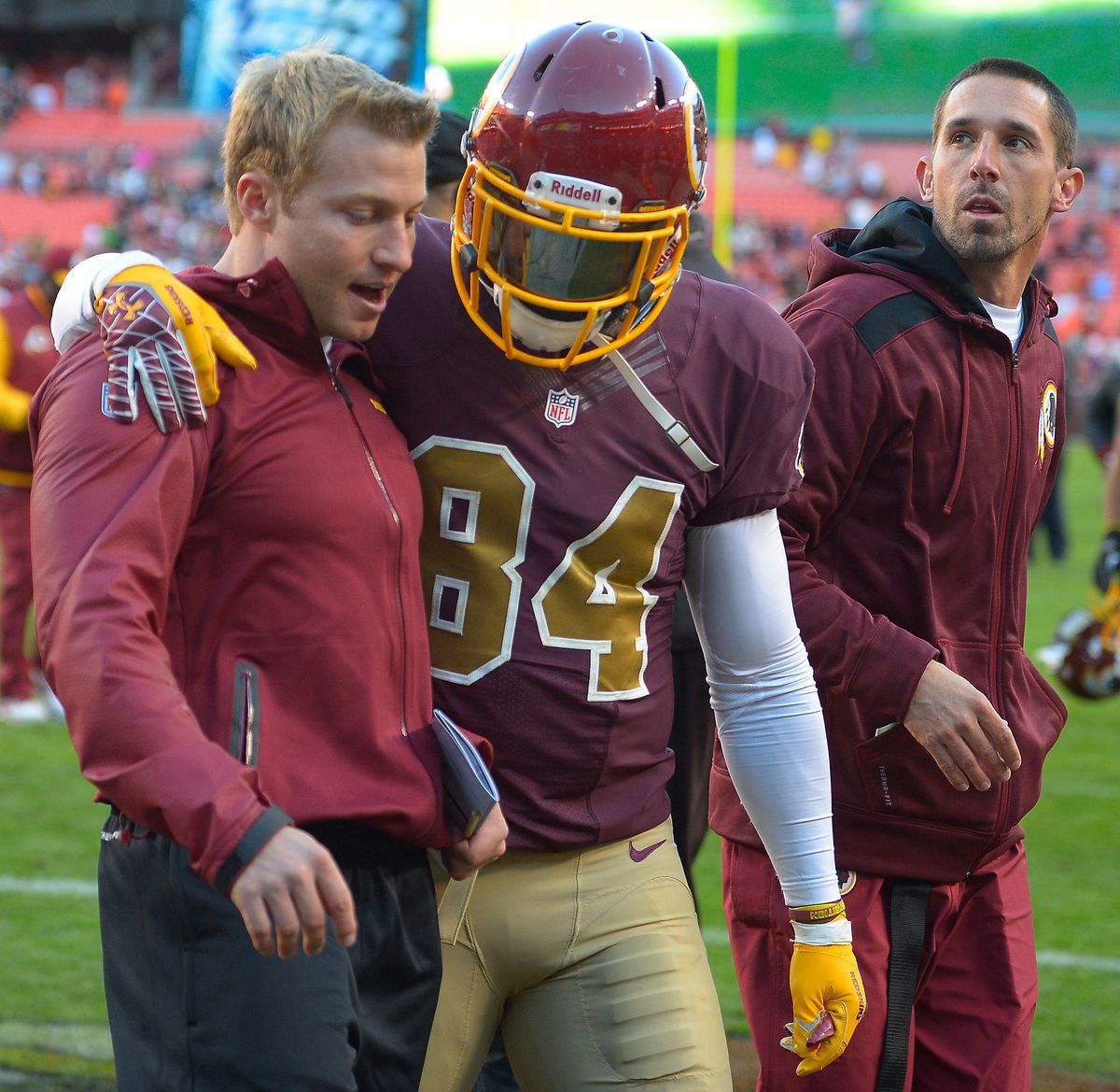the Washington Redskins play the San Diego Chargers