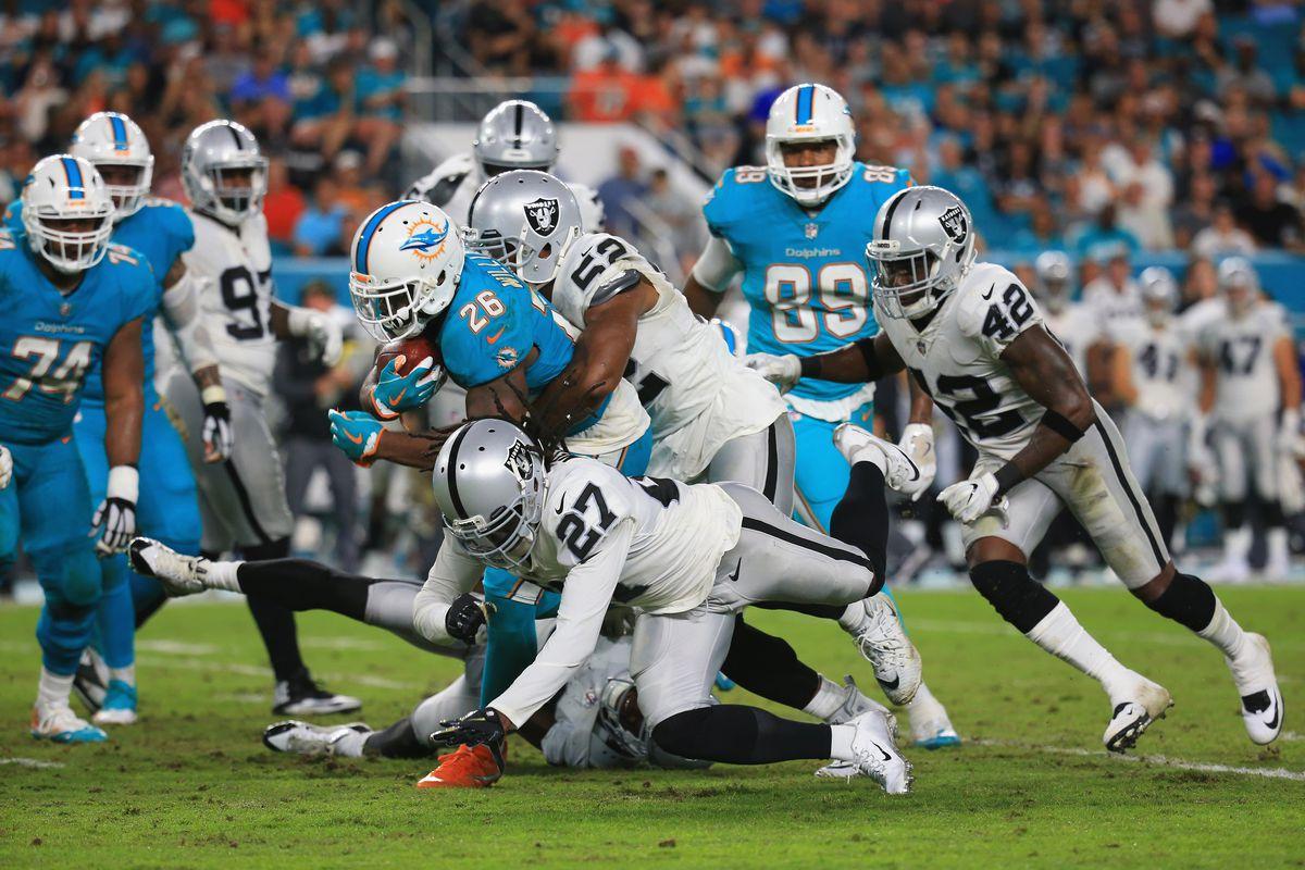 Oakland Raiders vMiami Dolphins