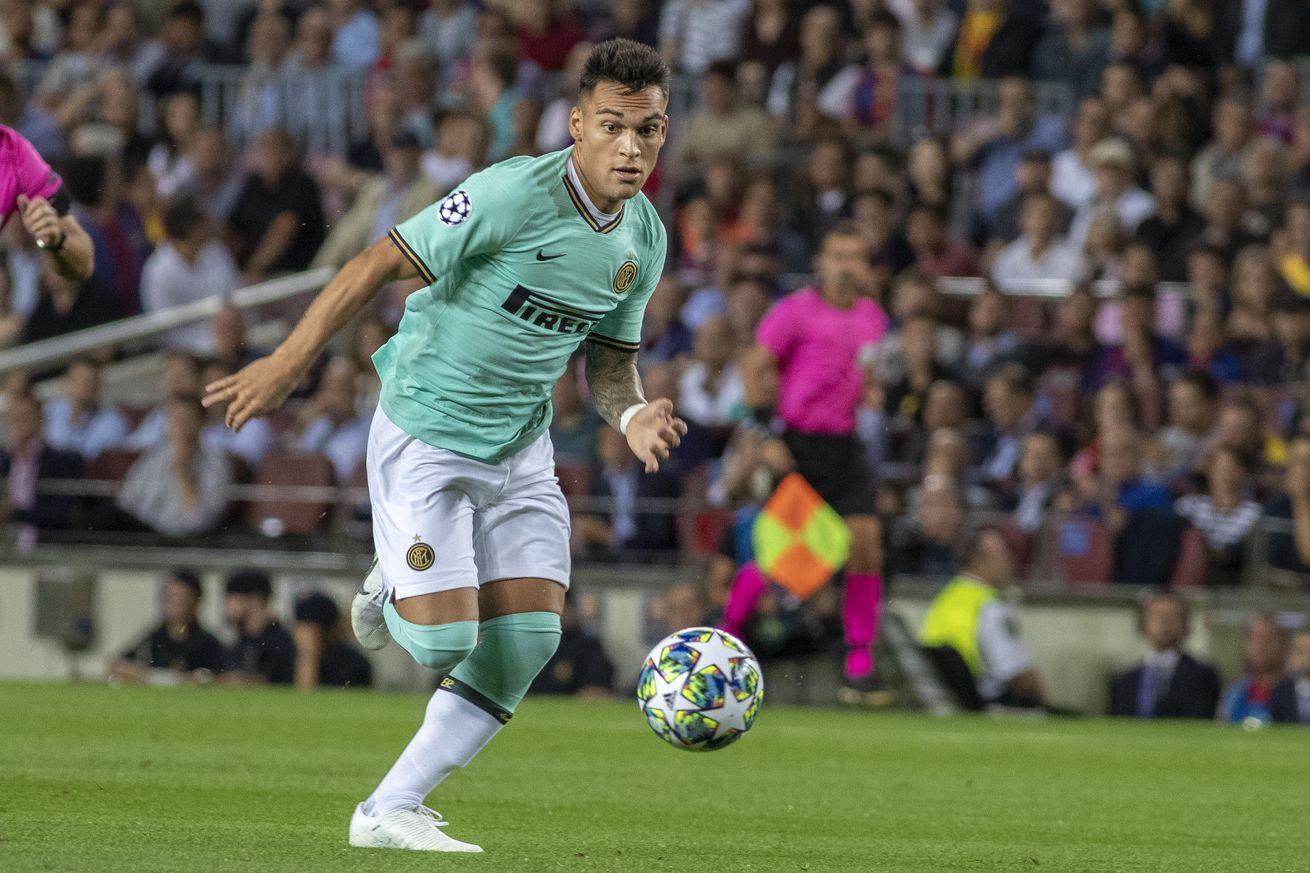 Lautaro Martínez plays down Barca rumors