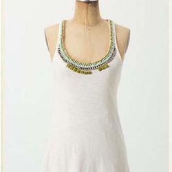 """<a href=""""http://www.anthropologie.com/anthro/product/shopsale-tops/24539850.jsp"""">Staccato Garnish Racerback</a> $19.95, was $68"""