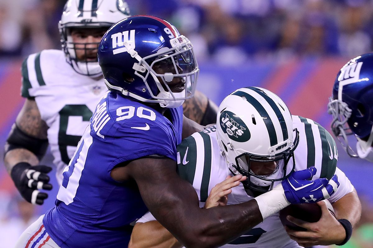 "Justin Tuck ""Not Surprised At All"" By Jason Pierre Paul Big Blue"