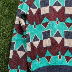 Harare patterned knit sweater, $495