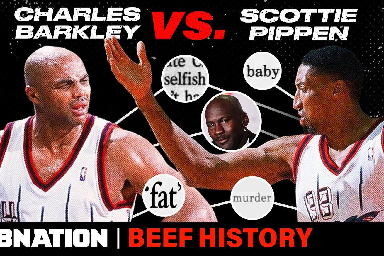 THUMB BarkleyPippenv2.0 - Scottie Pippen's beef with Charles Barkley is what happens when you don't listen to Michael Jordan
