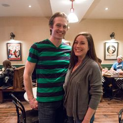 Meet owners Scott and Lindsay Selland, obviously happy to be finished renovations.