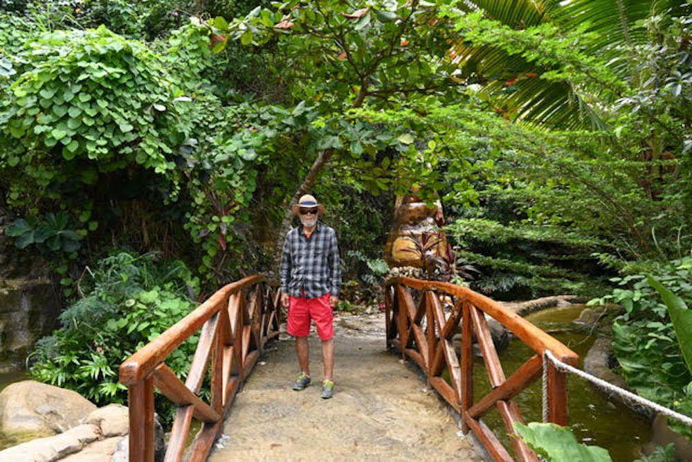 Jim Buckner exploring the Dominican Republic.