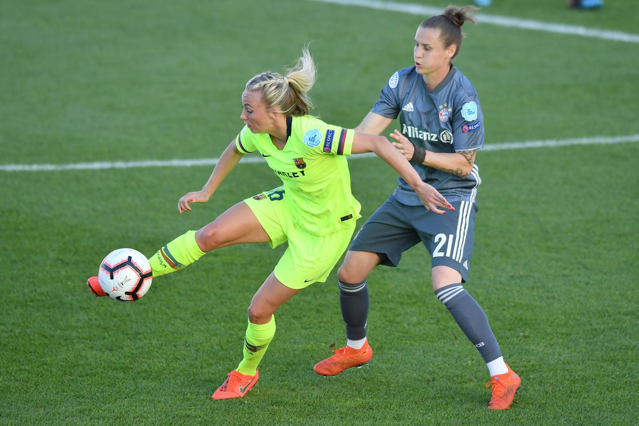Nike promote Barcelona women?s team as they edge closer to Champions League Final