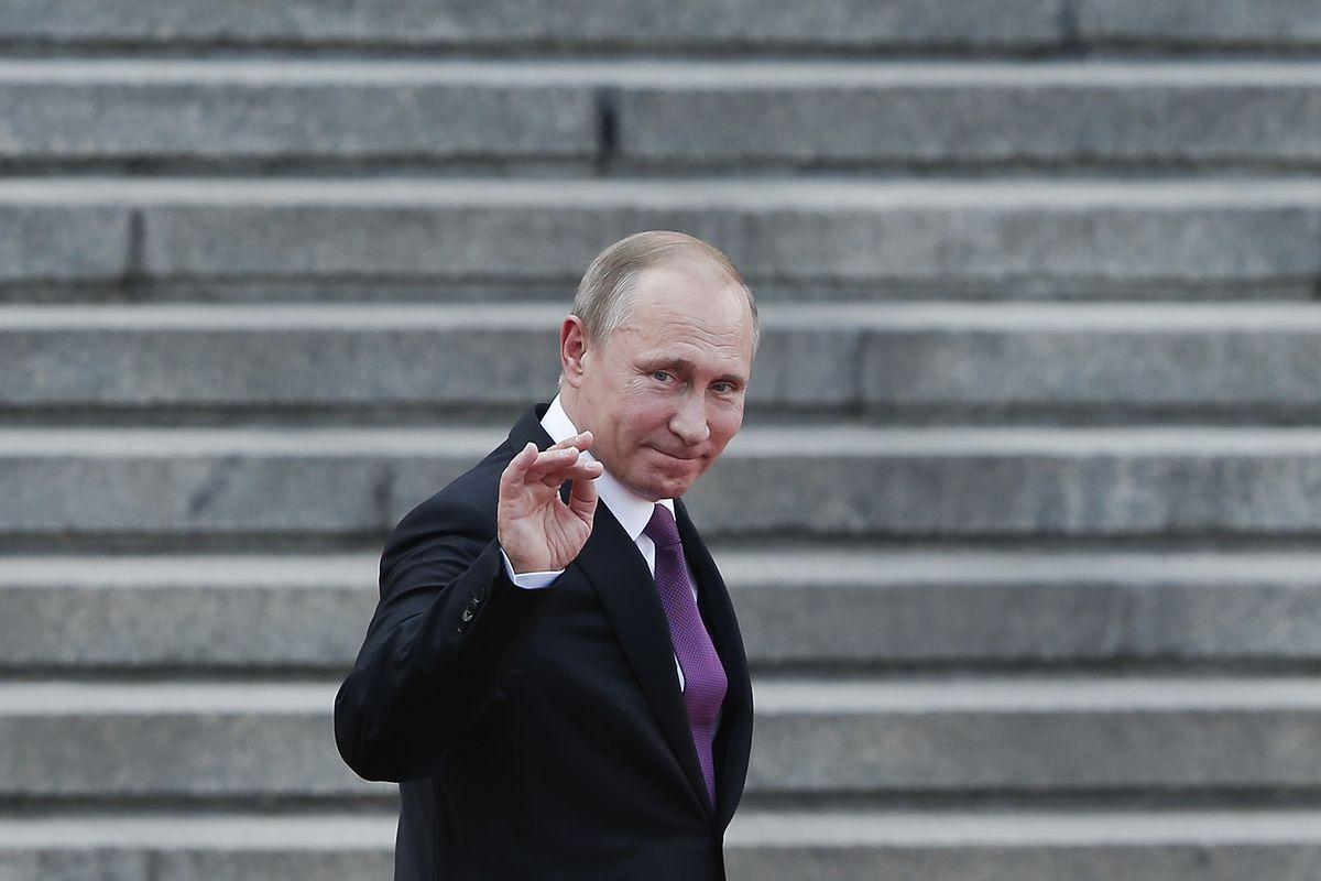 Russian President Vladimir Putin Visits China