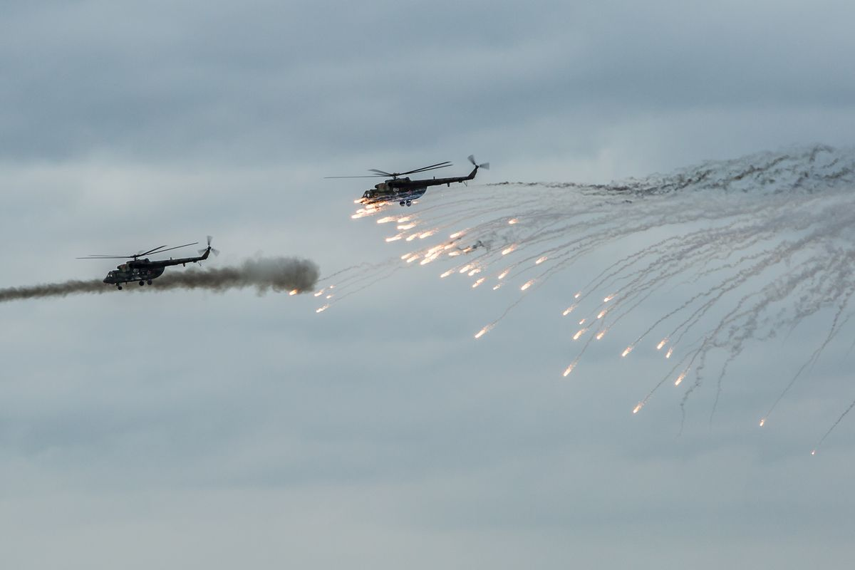 Zapad Joint Military Exercises Between Russia And Belarus