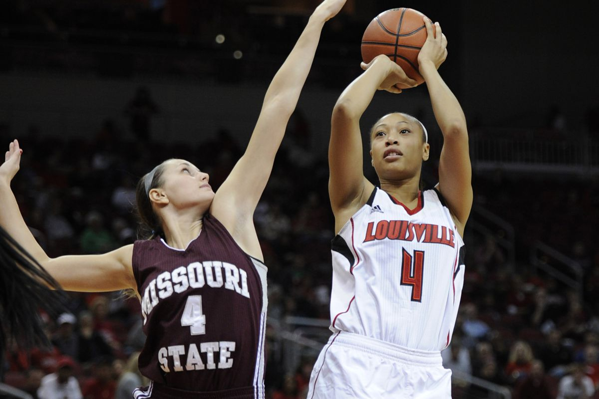 Louisville senior Antonita Slaughter is doing well, but still searching for answers after collapsing on the court on Tuesday.