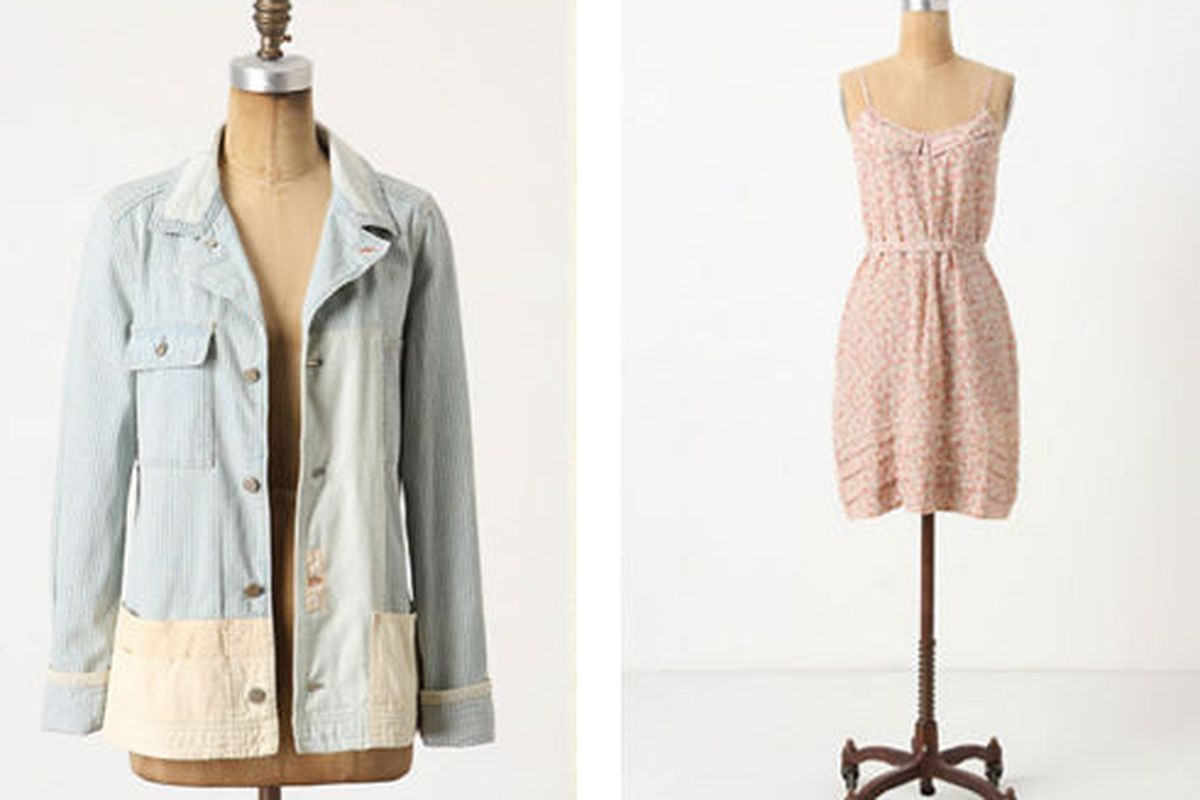 Some of the fare at Anthropologie