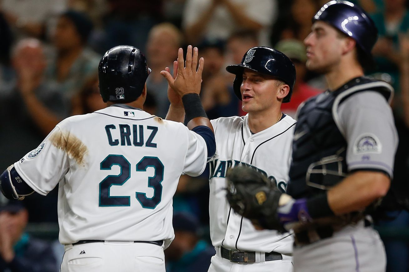Seager homers, drives in 4 as Mariners beat Rockies 10-4