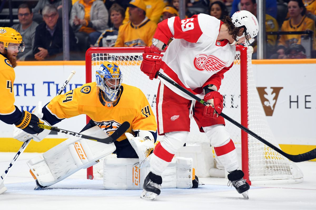 Image result for NHL Highlights | Predators @ Red Wings