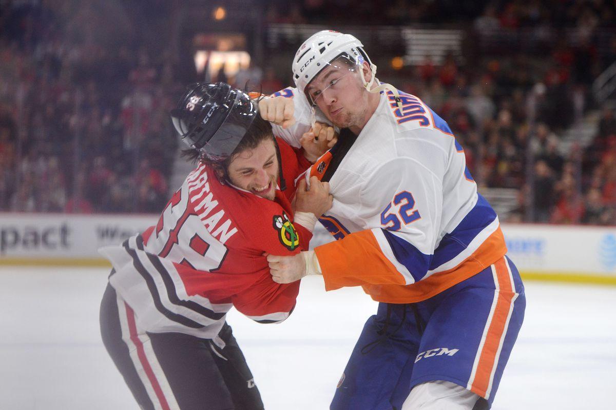 NHL: JAN 20 Islanders at Blackhawks