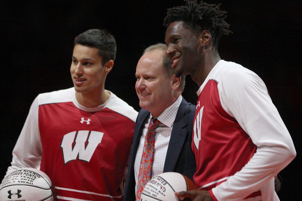 NCAA Basketball: Prairie View A&M at Wisconsin
