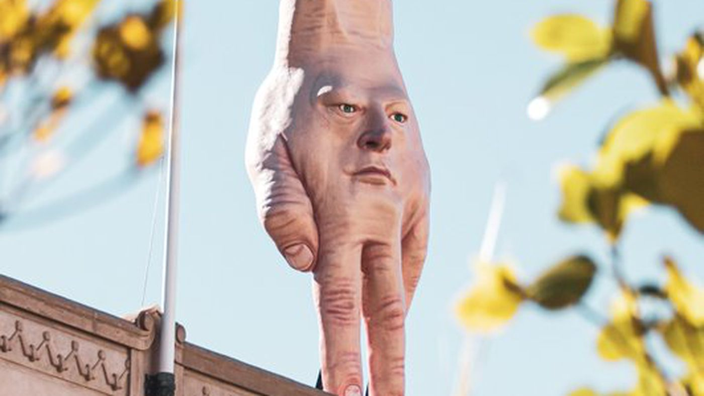 Kneel Before The Giant Hand, New Lord Of New Zealand