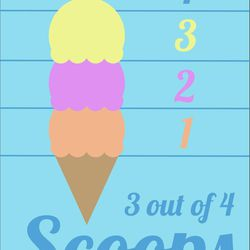 Mrs. Cavanaugh's Chocolates and Ice Cream is awarded 3 out of 4 scoops.