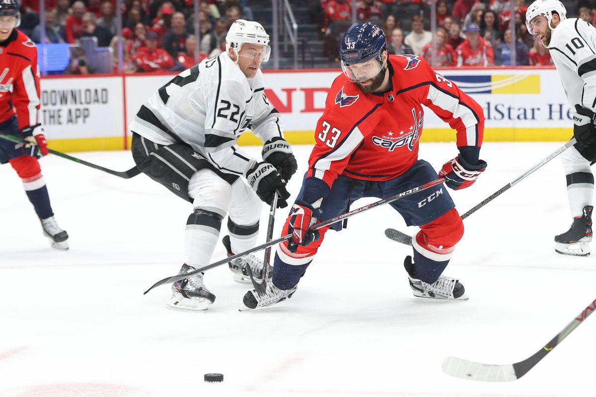 NHL: Los Angeles Kings at Washington Capitals
