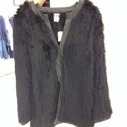 Haute Hippie fur coat, $420 (originally $1,135)