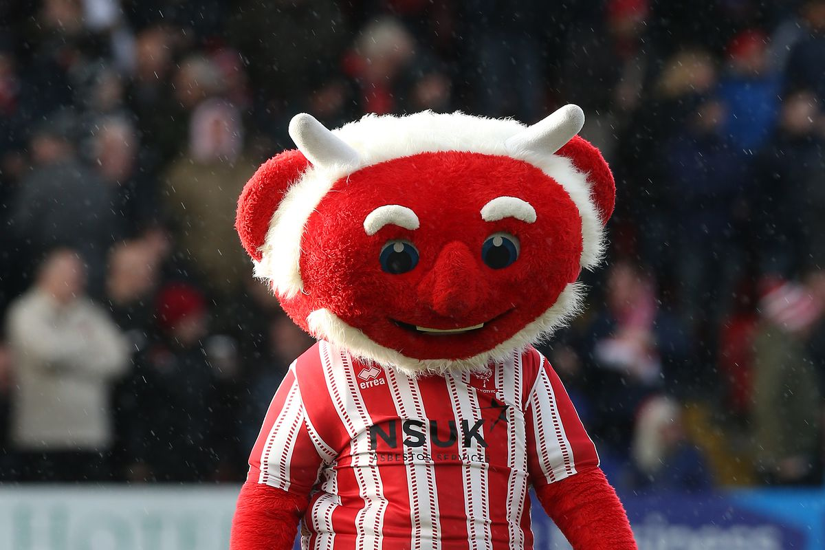Lincoln City v Northampton Town - FA Cup First Round