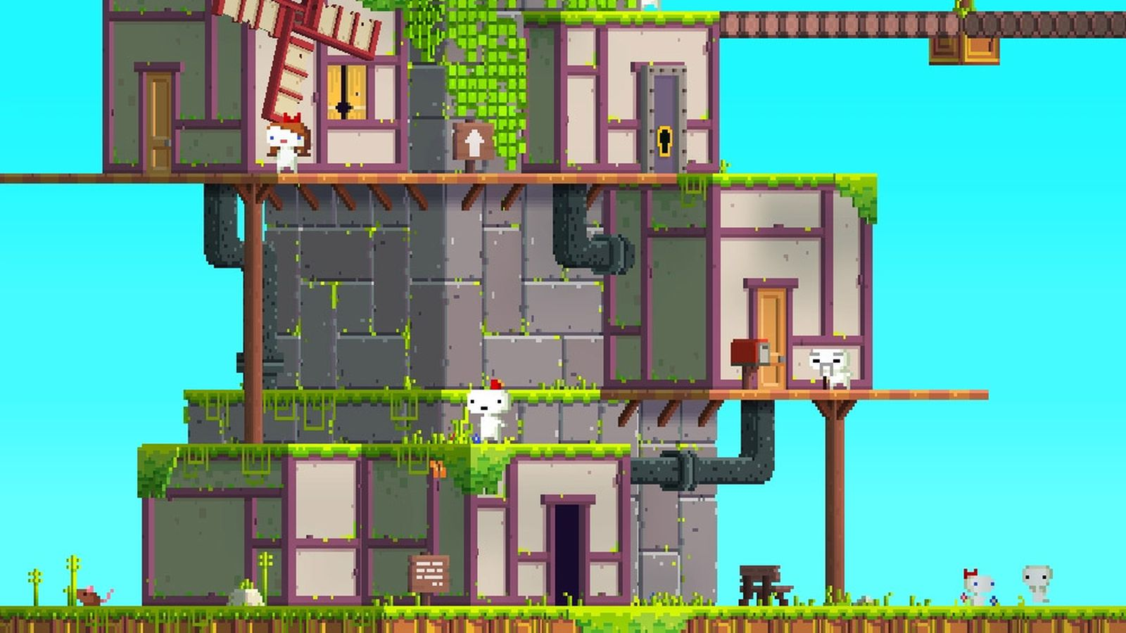 Fez Gets  100 Physical Edition  Vinyl Soundtrack Release