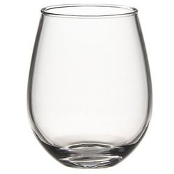 """A non-glass option that beats the pants off of Solo cups. <b>Crate & Barrel</b> Acrylic Stemless Wine Glass, <a href=""""http://www.crateandbarrel.com/acrylic-stemless-wine-glass/s160779"""">$3.95</a>"""