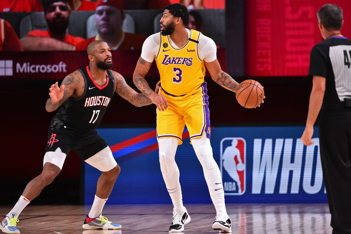 Lakers Vs Rockets Series 2020 Tv Info Game Schedule Results Scores Recaps Stats For Second Round Draftkings Nation