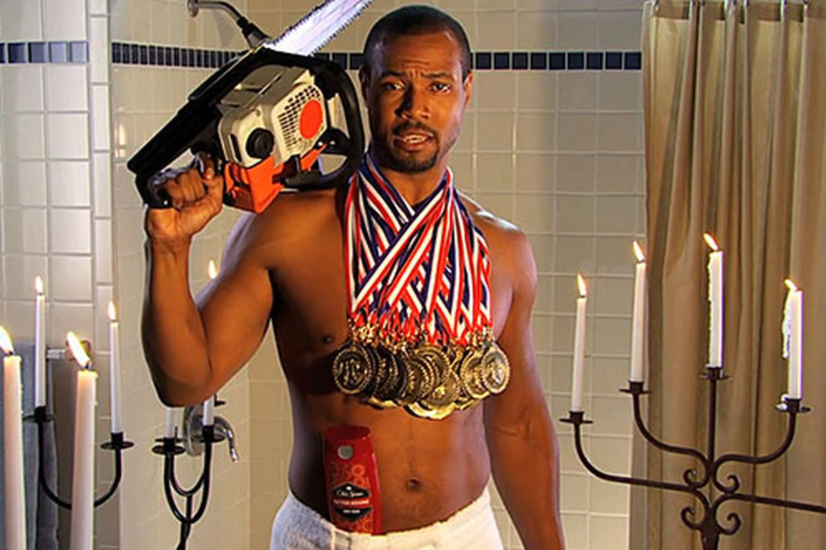 """That is one manly man.  (via <a href=""""http://www.service-innovation.org/wp-content/uploads/2010/08/old-spice-guy-videos.jpg"""">www.service-innovation.org</a>)"""
