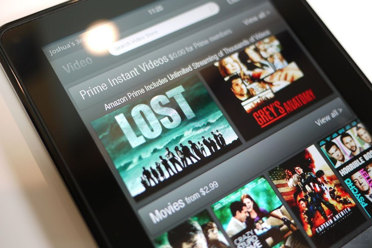 kindle fire instant video