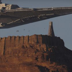 Rogue One: A Star Wars Story  Star Destroyer  Ph: Film Frame ILM/Lucasfilm  ©2016 Lucasfilm Ltd. All Rights Reserved.