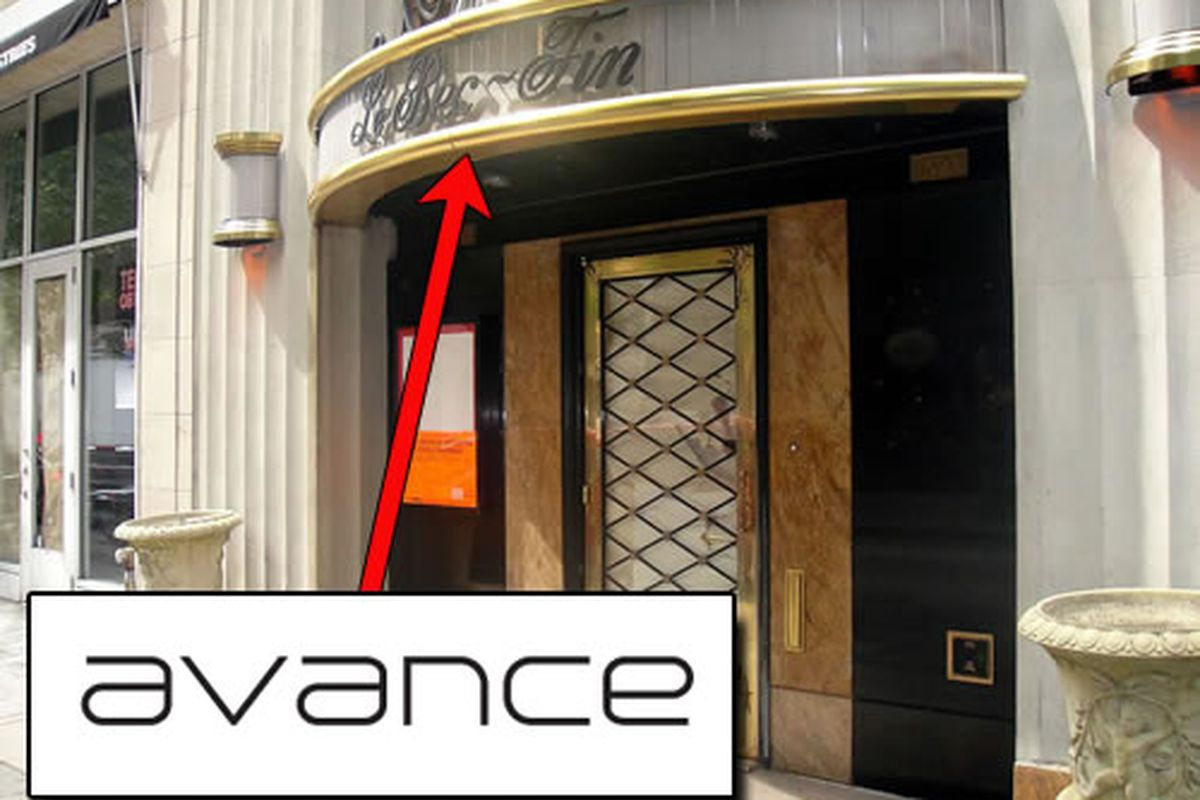 Justin Bogle's restaurant is called Avance.