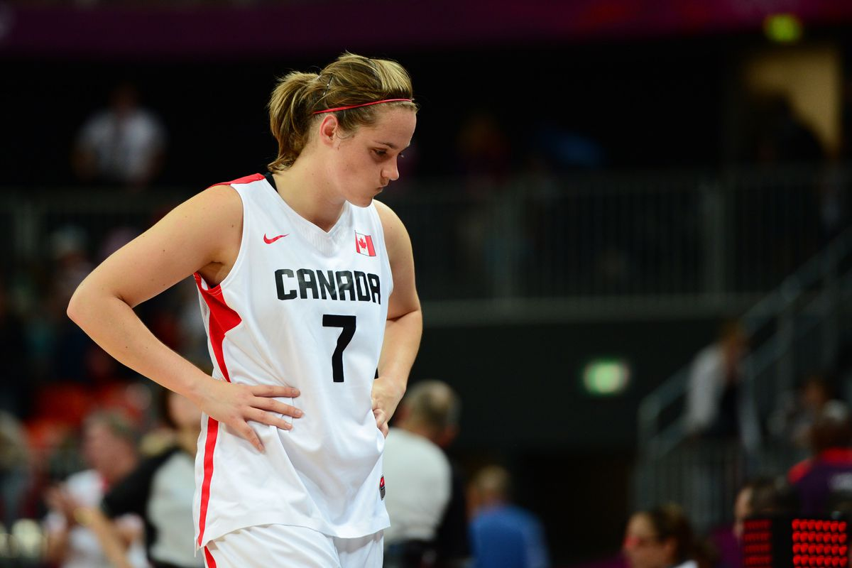 Vermont alum Courtnay Pilypaitis was Canada's top three point shooter at the 2012 London Olympics.