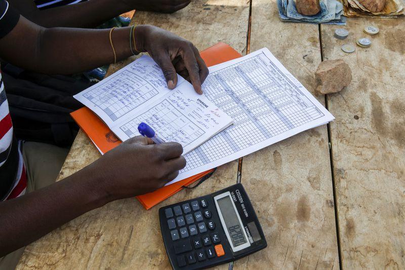 Microfinance loan reimbursement in Northern Togo.