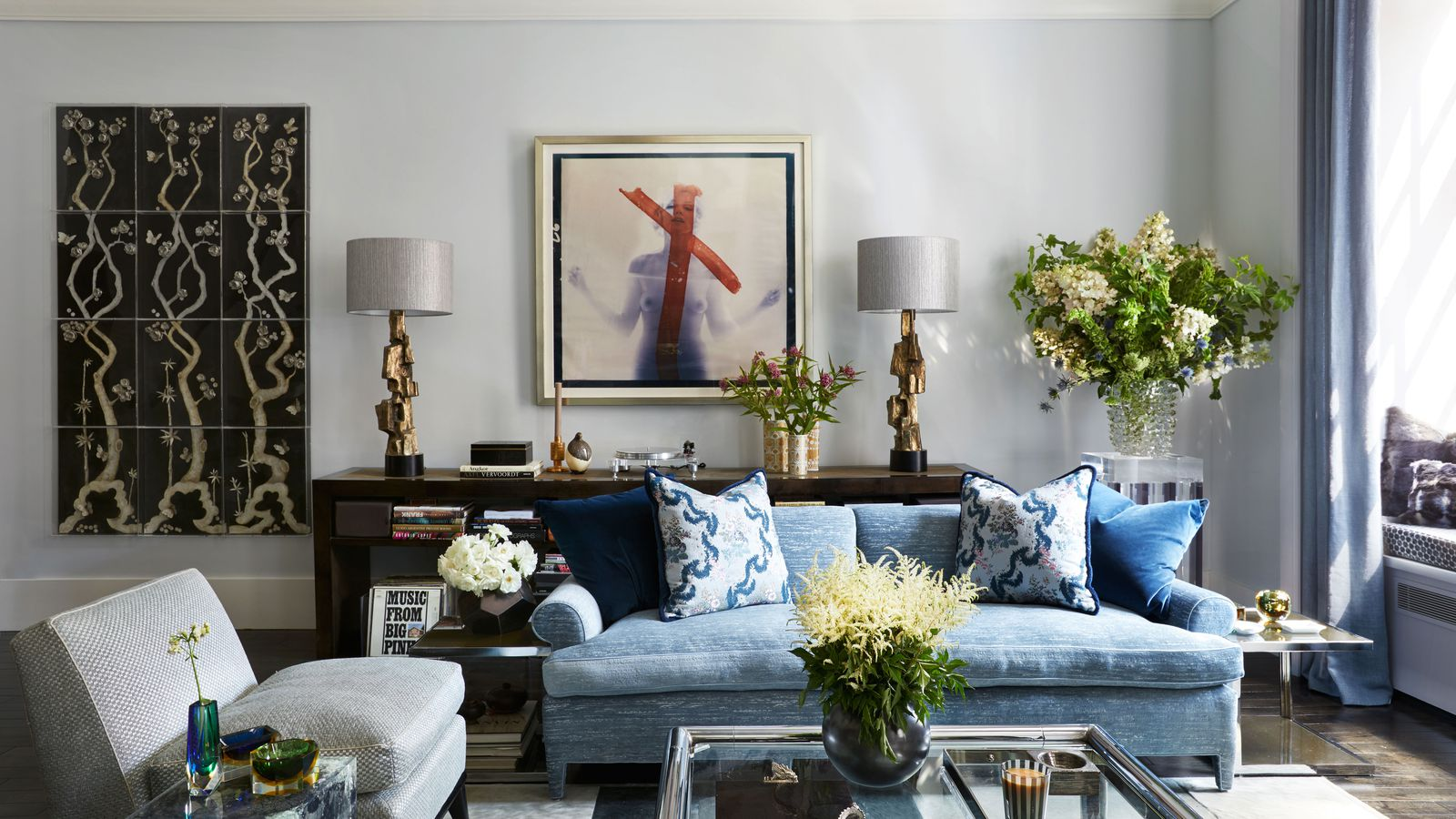 Real housewives star carole radziwill shows off her glam for Home decorations nyc