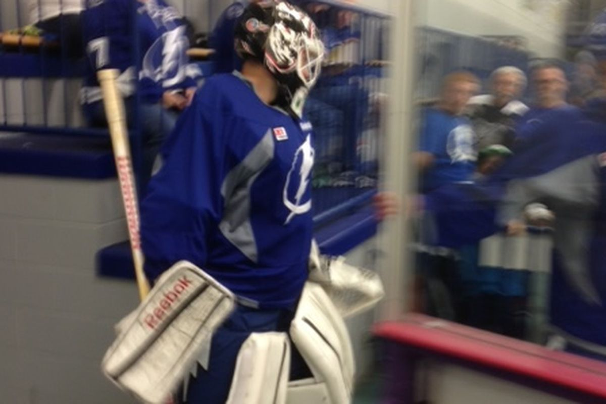 Clay Witt is only the 2nd Florida-born player to be invited to Tampa Bay Lightning developmental camp.