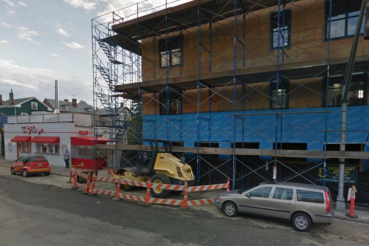 749 E. Broadway under construction