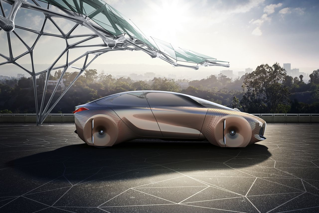 BMW\'s insane car of the future replaces dashboards with augmented ...
