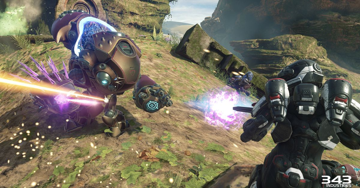 Meet Halo 5's new boss, then kill it with this new vehicle