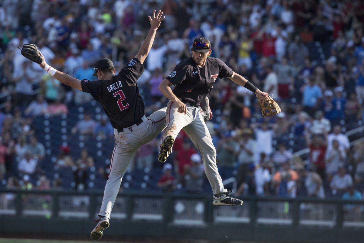 NCAA Baseball: College World Series-Florida vs Texas Tech