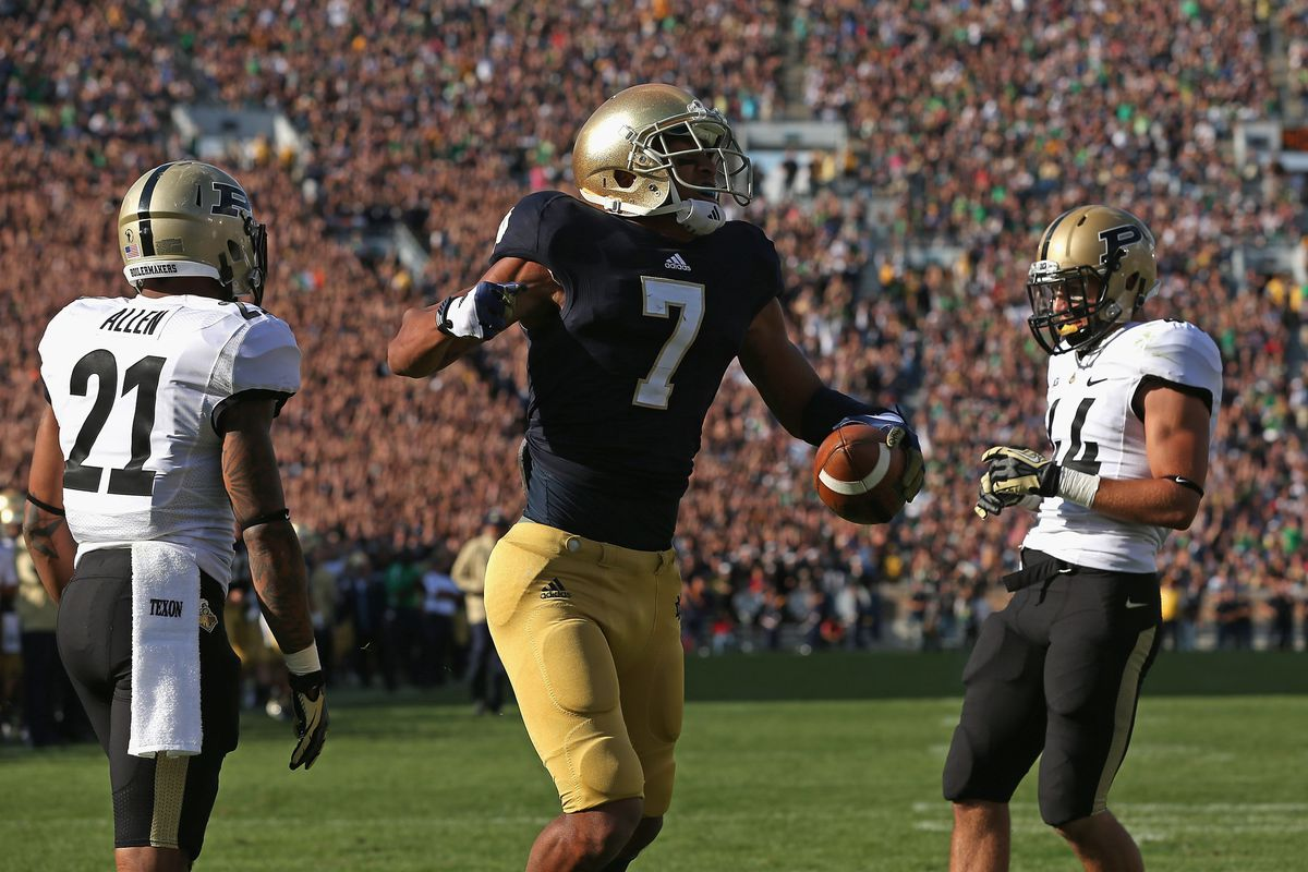 Will the Notre Dame-Purdue series continue when ND has to play 5 ACC programs a year?