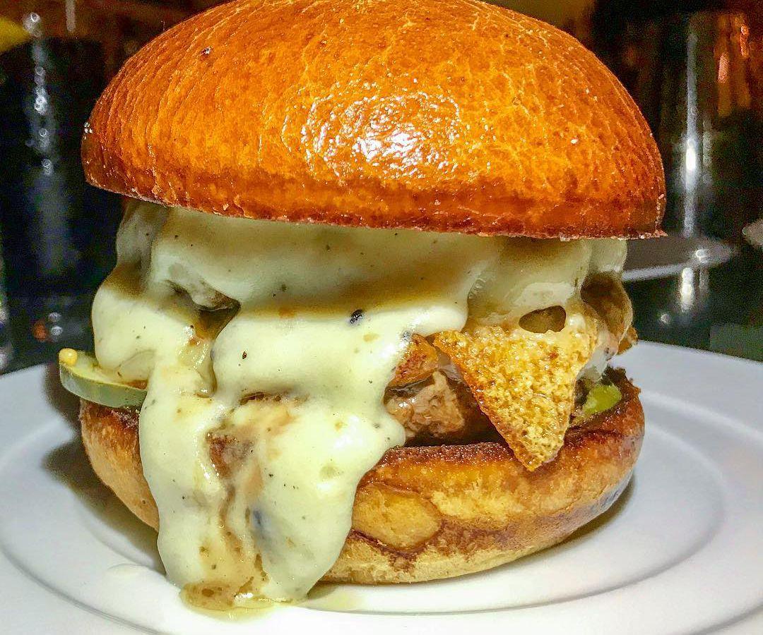 The Acadia burger.