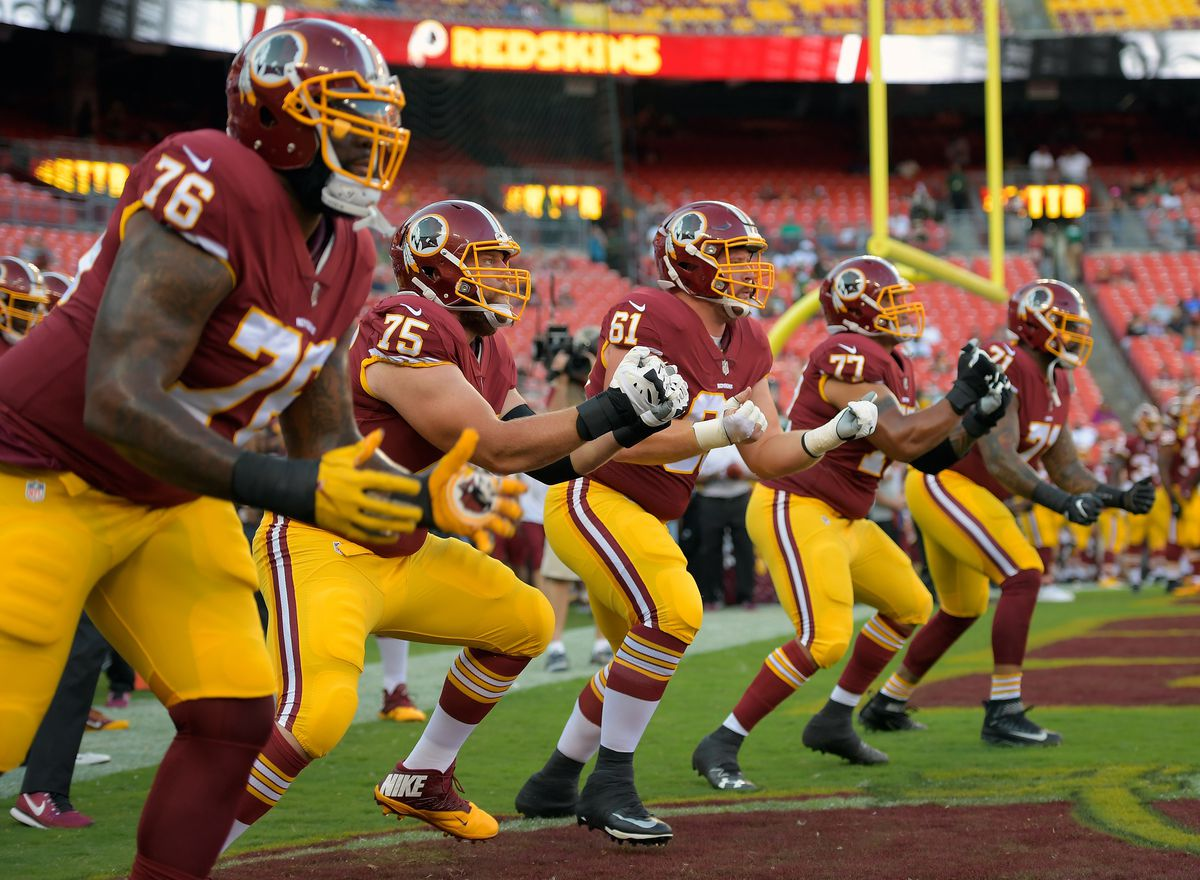 the Washington Redskins play the Green Bay Packers