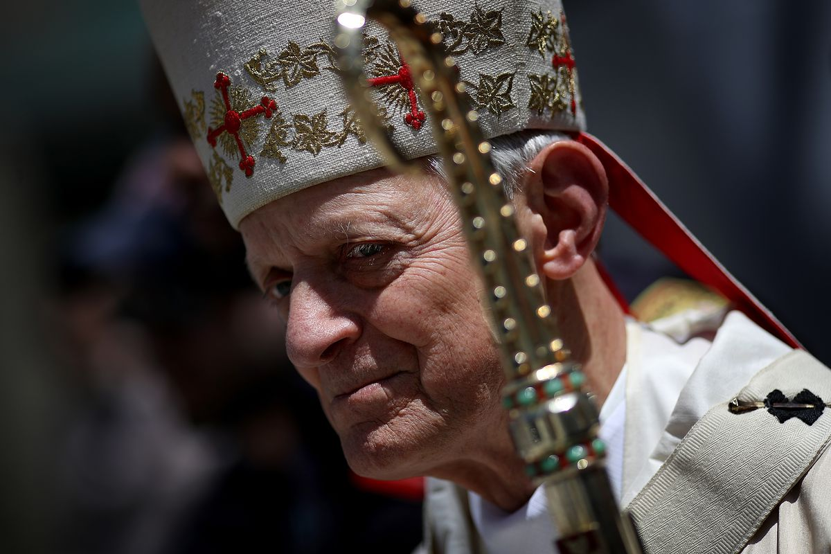 DC Archbishop Donald Wuerl faces calls to resign over