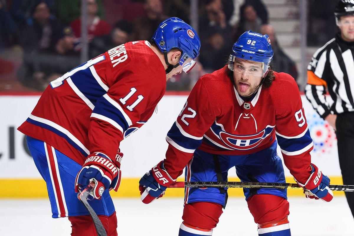 NHL: FEB 07 Jets at Canadiens